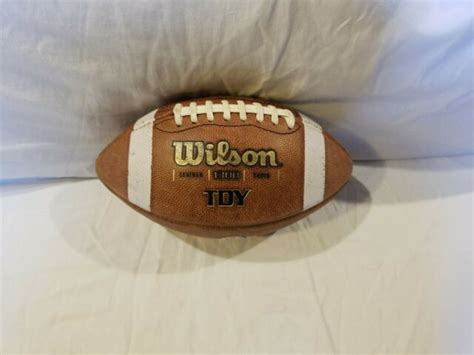 Wilson TDY 1300 Youth Leather Football WTF1300 for sale
