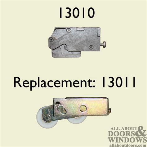 Patio Door Roller, DISCONTINUED replace with #13011