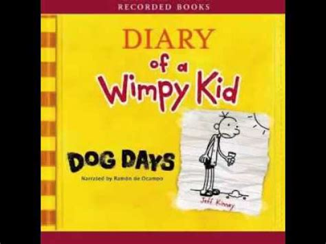 Audiobook: Diary of a Wimpy Kid: Dog Days Track 2 - YouTube
