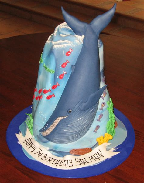 Let Them Eat Cake: Blue Whale Cake