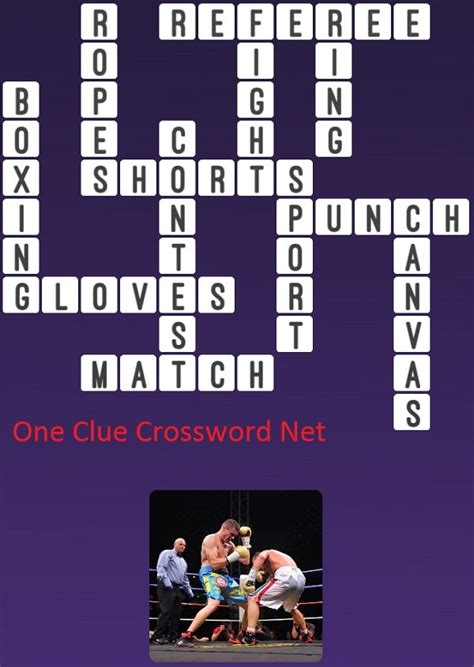 Boxing - Get Answers for One Clue Crossword Now