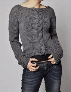 Hand Knit Women's sweater made to order hand - Knit & Share