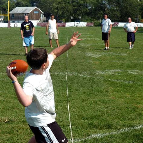 Punt, Pass & Kick providing fun and exercise for kids