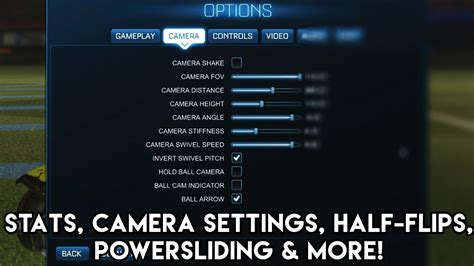 My Stats, Camera Settings & Button Bindings EXPLAINED