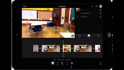 Editing, Moving, and Deleting Clips in iMovie for iPad