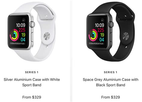 Apple Watch Series 1 Price Drop in Canada: Now Starts at
