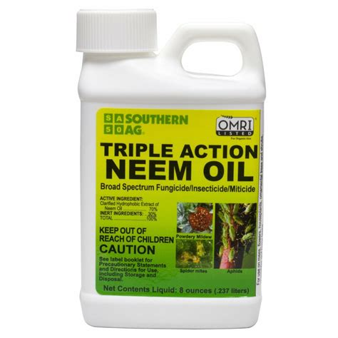 Triple Action Neem Oil | A Do It Yourself Pest Control Store