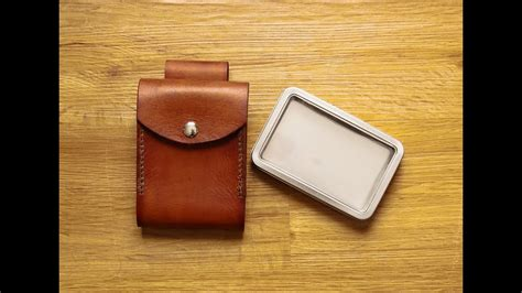 Making A Leather Belt Pouch - YouTube