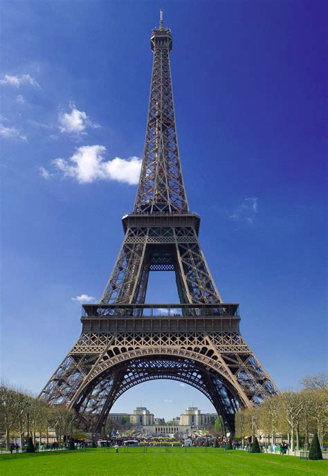 Eiffel Tower in Paris, France - The best places to visit