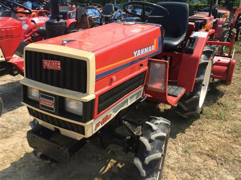 YANMAR F16D used compact tractor |K