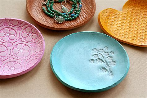 clay jewelry dishes - Lisa Storms
