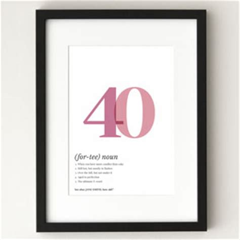 40th Birthday Sayings and Messages