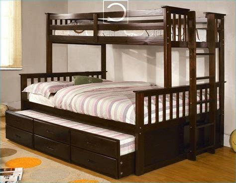 twin over queen bunk bed with trundle - Google Search