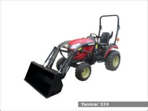 Yanmar 324 sub-compact utility tractor: review and specs