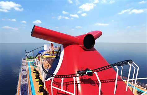 Carnival Mardi Gras to Feature Roller Coaster at Sea
