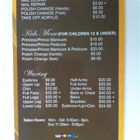Nail Salon Price List Philippines - Nail and Manicure Trends