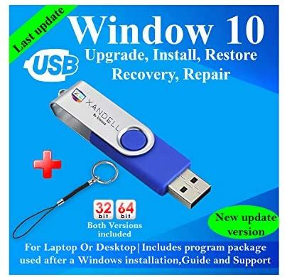 Compatible Windows 10 all Version Install To Factory