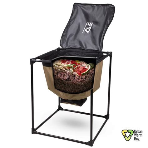 Urban Worm Compost Screener - 1/4-in Screen with 1/8-in