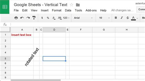 Google Sheets - Rotate Text (Pre-2017 Fix) - YouTube