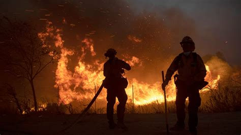 2 firefighters injured in Silverado fire are 'fighting for