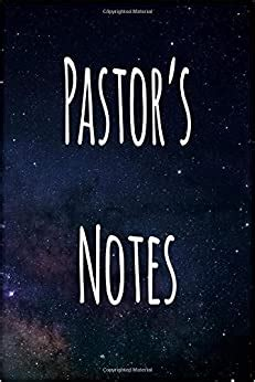 Pastor's Notes: Personalised Name Notebook - 6x9 119 page