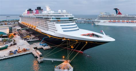 New Disney Cruise Line Ships to be Based in Orlando's Port