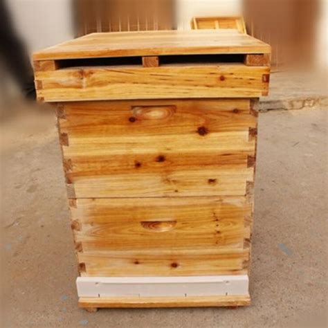Factory Supplies Wooden Beehive Langstroth Beehive Box(id