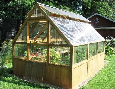 How To Build A Greenhouse Utilizing Passive Solar Heating