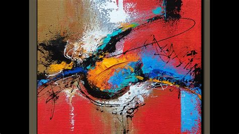 Acrylic abstract painting # make your own art
