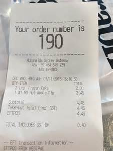 McDonald's customer confused after $1