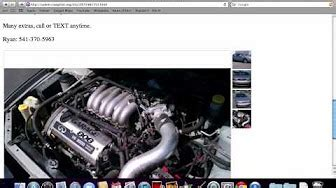 Craigslist Oregon Used Cars for Sale by Owner - YouTube