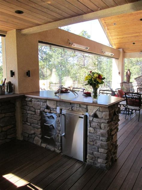 Ultimate Luxury Deck with Outdoor Kitchen   Photos   DIY