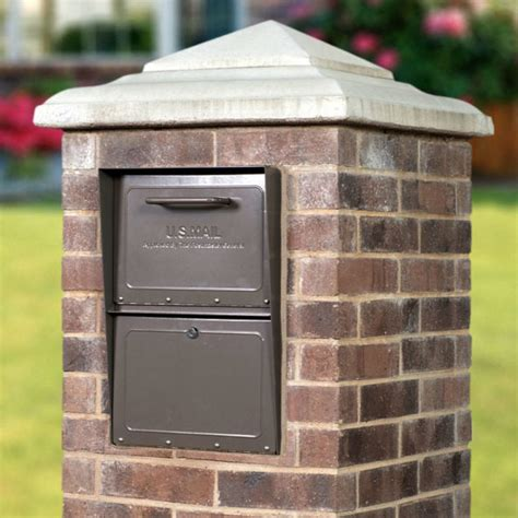 Rich Bronze Secure Curbside Locking Mailbox | MailCase