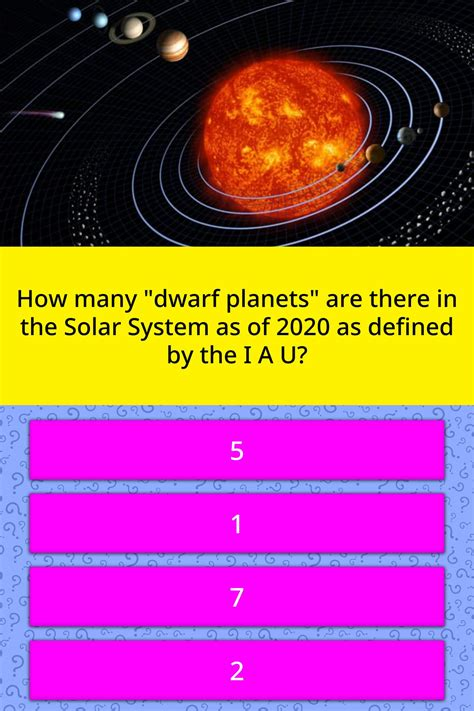 """How many """"dwarf planets"""" are there"""